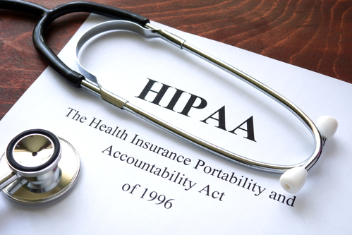 How does the HIPAA privacy rule affect clinical trials procedures?